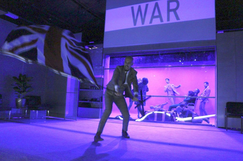 L'Absence de guerre de David Hare. Mise en scène d'Aurélie van den Daele © Marjorie Moulin