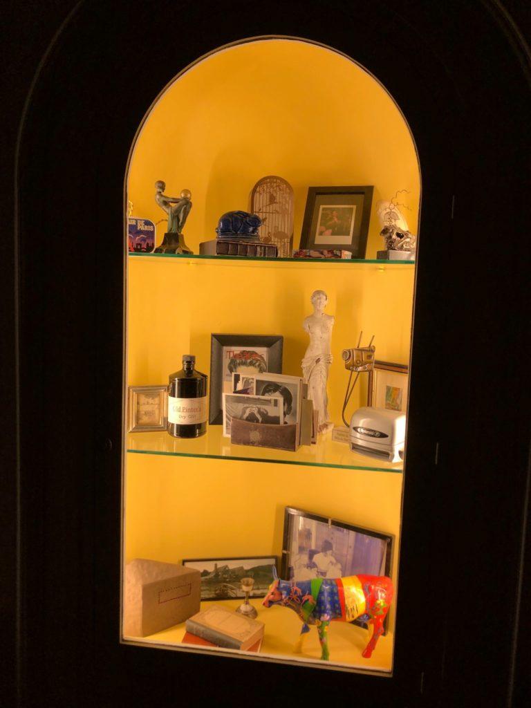 Une vitrine de Thierry Harcourt