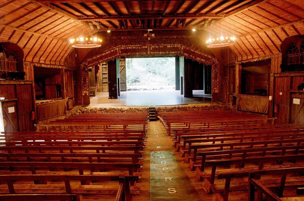 l'intérieur du théâtre du Peuple ©Eric Legrand