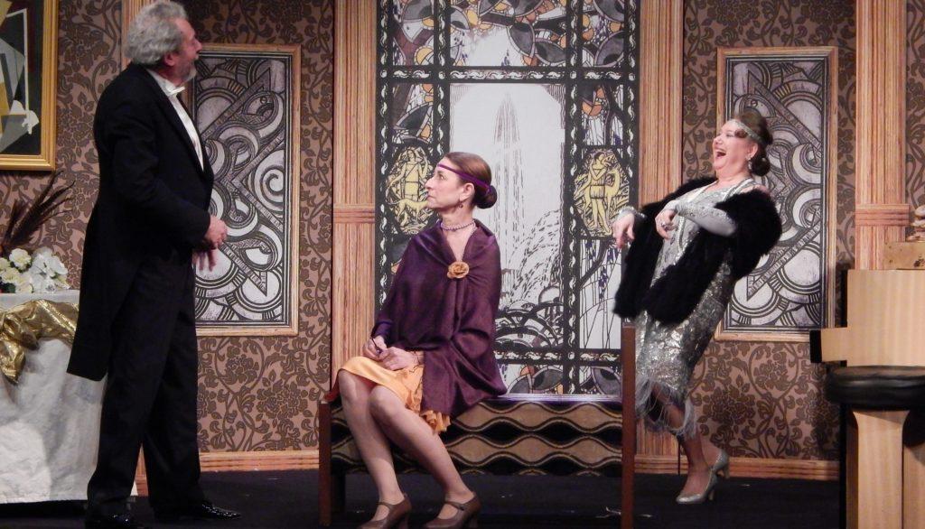 Brigitte Faure dans le Bal d'Irène Némirovsky © Cyril Niay