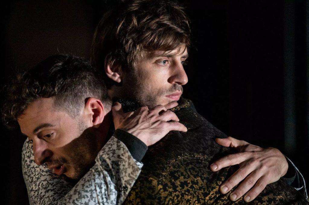 Thomas Jolly et Jules Sagot Dans Mithridate de Jean Racine Mis en Scène par Eric Vigner © Jean Louis Fernandez