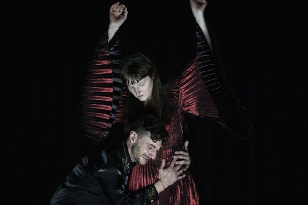 Mithridate de Racine, Mise en scène d'Eric Vigner. Jutta Johanna Weiss et Thomas Jolly ©Jean Louis Fernandez