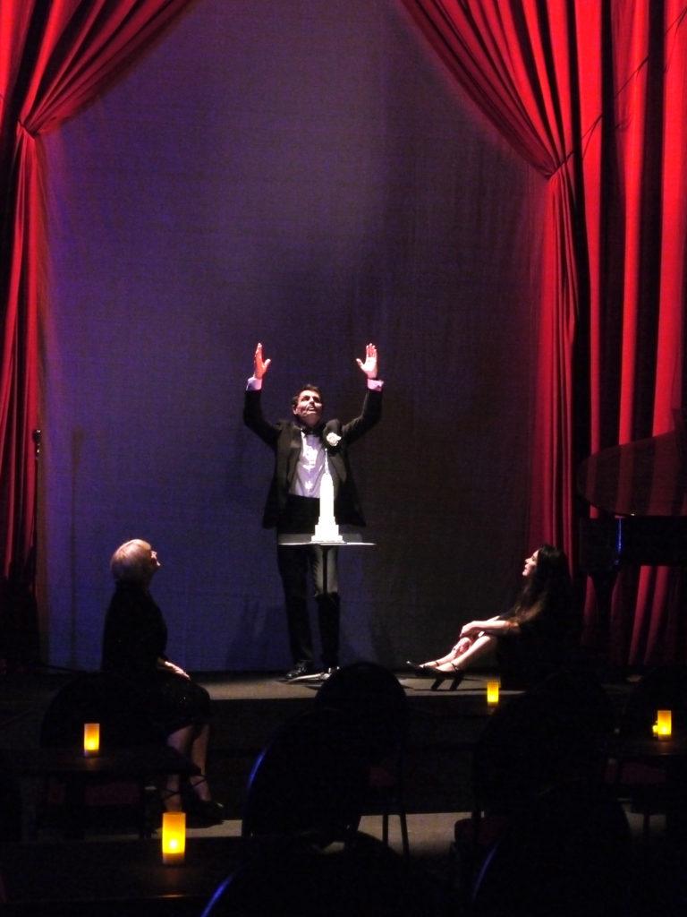 Sagan. Mise en scène d'Anne-Marie Lazarini. Artisitic théâtre @Marion Duhamel