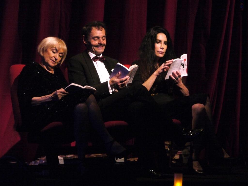 Sagan. Mise en scène d'Anne-Marie Lazarini. Artistic Théâtre : Coco Felgeirolles, Cédric Colas, Frédérique Lazarini @Marion Duhamel