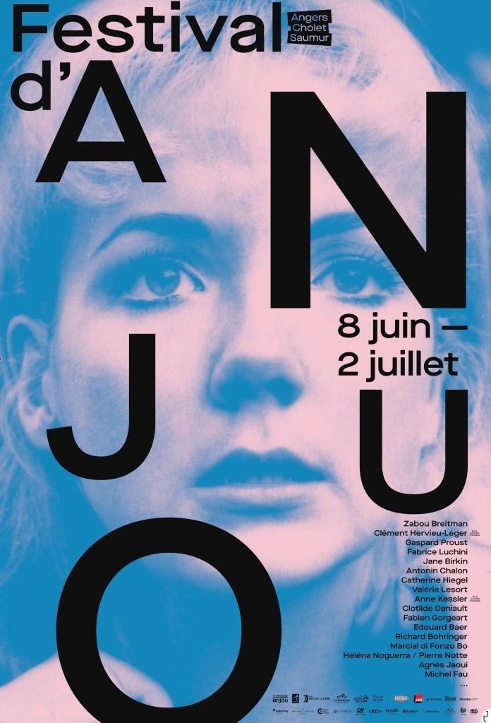 Affiche du festival d'Anjou 2021