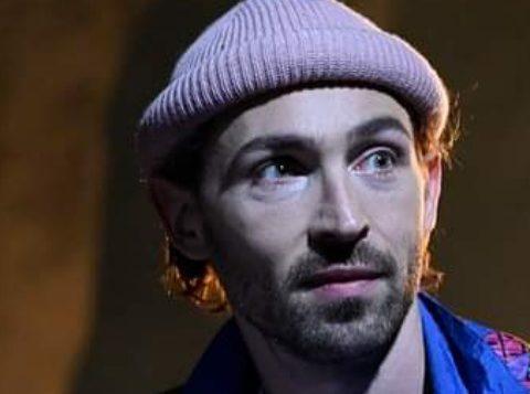 Pierre Hélie dans la Grande Musique de Stéphane Guérin. mise en scène de Salomé Villiers. © Cédric Vasnier