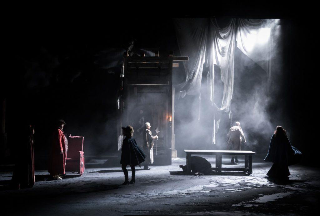 Fracasse de Théophile Gautier. mise en scène de Jean-Claude Herbert. © Simon Gosselin
