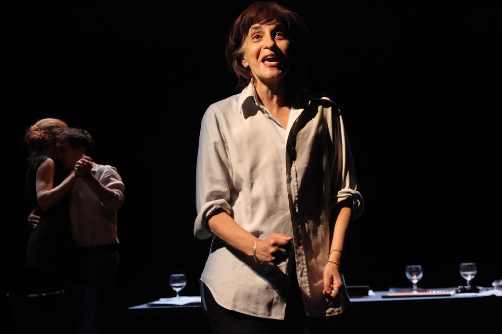 Les Imprudents d'Isabelle Lafon. Marguerite Duras. Printemps des Comédiens ©Printemps des Comédiens