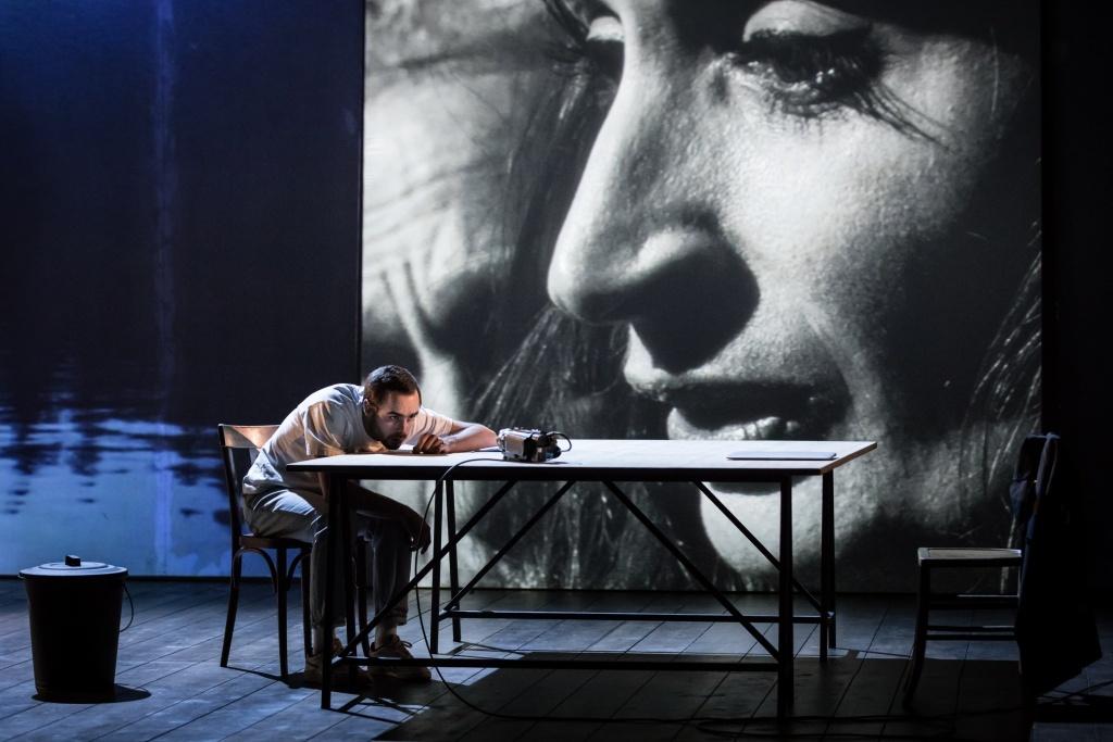 La Mouette d'Anton Tchekhov. Mise en scène de Cyril Teste ©Simon Gosselin