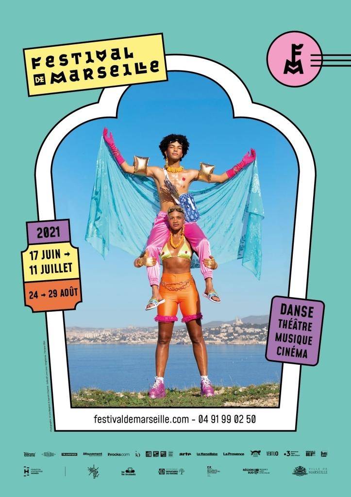 Affiche du festival de Marseille
