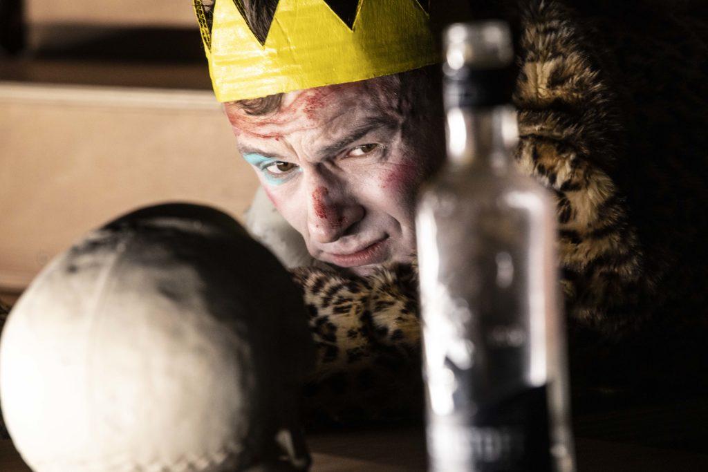 Hamlet de moins de Nathalie Graraud et Olivier Saccomano, Printemps des comédiens © Jean- Louis Fernandez