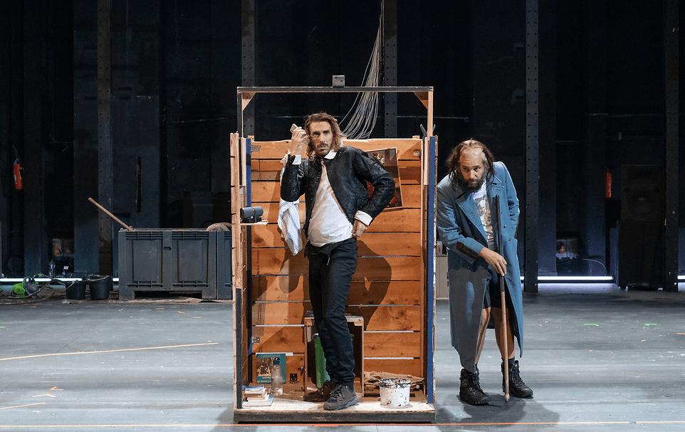 Jamais labour n'est trop profond  de Thomas Scimeca, Anne-Élodie Sorlin & Maxence Tual Festival Paris l'été Théâtre Paris-Villette © Martin Argyroglo