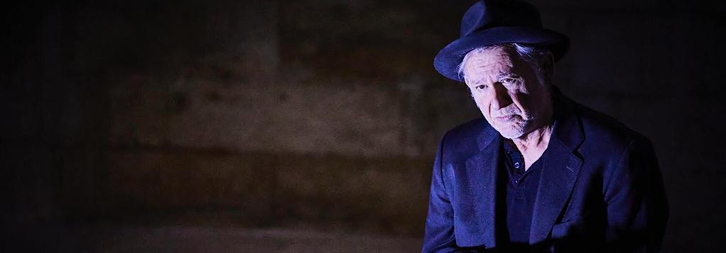 Premier Amour de Beckett. Jean -Quentin Chatelain. théâtre des Halles © Christophe Raynaud de Lage