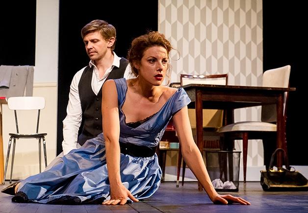 La peur de Stefan Zweig. Mise en scène Élodie Menant. Hélène Degy © DR