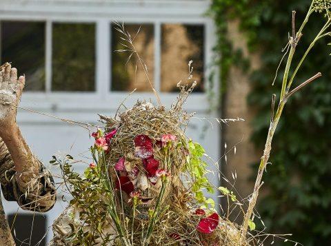 Nos coeur en terre de David Wahl et Olivier de Sagazan ©Christophe Raynaud de Lage