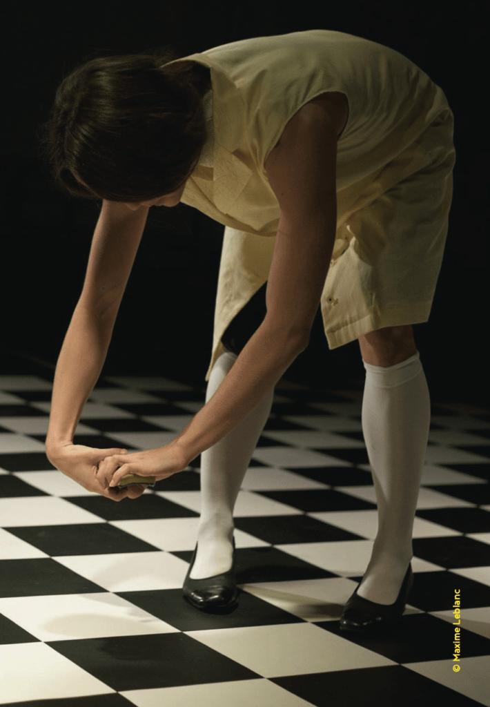 Programme #3 La belle scène saint-denis. La ménagère de Rebecca Journo ©TLA