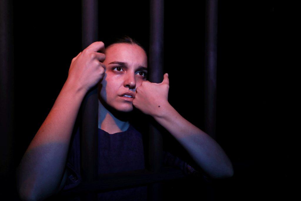 Asia e Mouloud Belaïdi Mise en scène de Gérard Gélas  avec Pauline Dumas © ChêneNoir