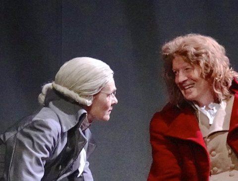 Danton et Robespierre- Les racines de la Liberté d'Hugues Leforestier Festival d'Avignon le OFF DR