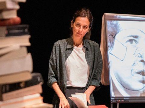 Fragments d'après les écrits d'Hannah Arendt. Mise en scène Charles Berling. Bérengère Warluzel © Vincent Bérenger