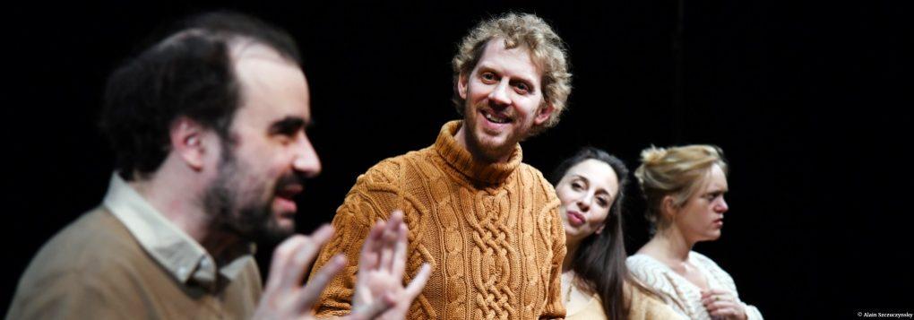 Le bonheur des uns de Côme de Bellescize . Théâtre des Béliers © Alain Szczuczyński