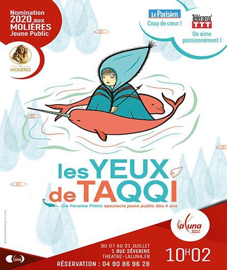 Affiche des Yeux de Taqqi