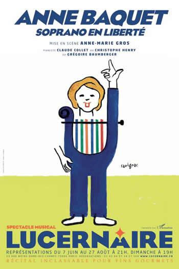 Anne Baquet Affiche de Savignac
