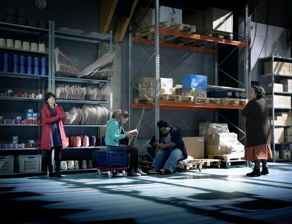 7 minutes de Stefano Massini - Mise en scène de Maëlle Poésy - Comédie Française - Vieux-Colombier © Vincent Pontet, coll. Comédie-Française