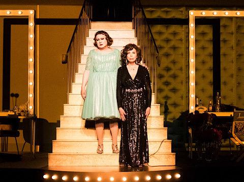 Qu'est-il arrivé à Bette Davis et Joan Crawford ? de Jean Marbœuf. mise en scène de Miche Fau © Christophe Martin