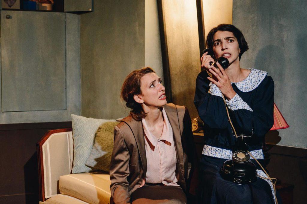 La ligne rose d'Odile Blanchet, Bérénice Boccara et Sana Puis Lucernaire © Bénédicte Karyotis