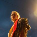 Filage d'Antigone, théâtre du Crochetan à Monthey. Mise en scène Lorenzo Malaguerra. Avec Noémie Schmidt, Philippe Soltermann, Olivia Seigne, Baptiste Morisod, Vincent Rime, Jean Lambert-wild. Scénographie et costumes Kristelle Paré. © Marino Trotta