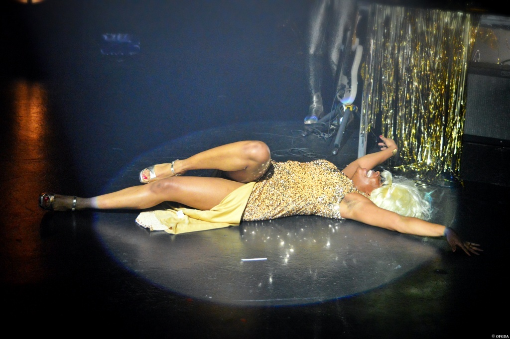 My body is cage de Ludmilla Dabo. théâtre de la Tempête. © OFGDA