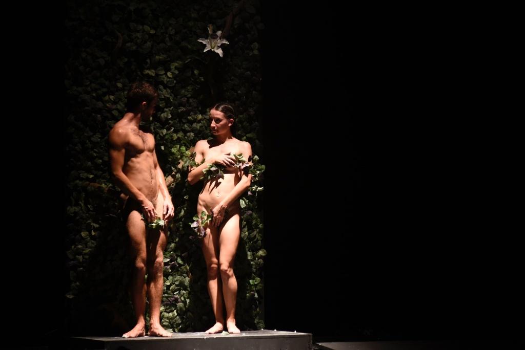 Fossile de Martin Harriague. Le temps d'aimer. Malandain Ballet Biarritz. Dantzaz ©Caroline d'Otero