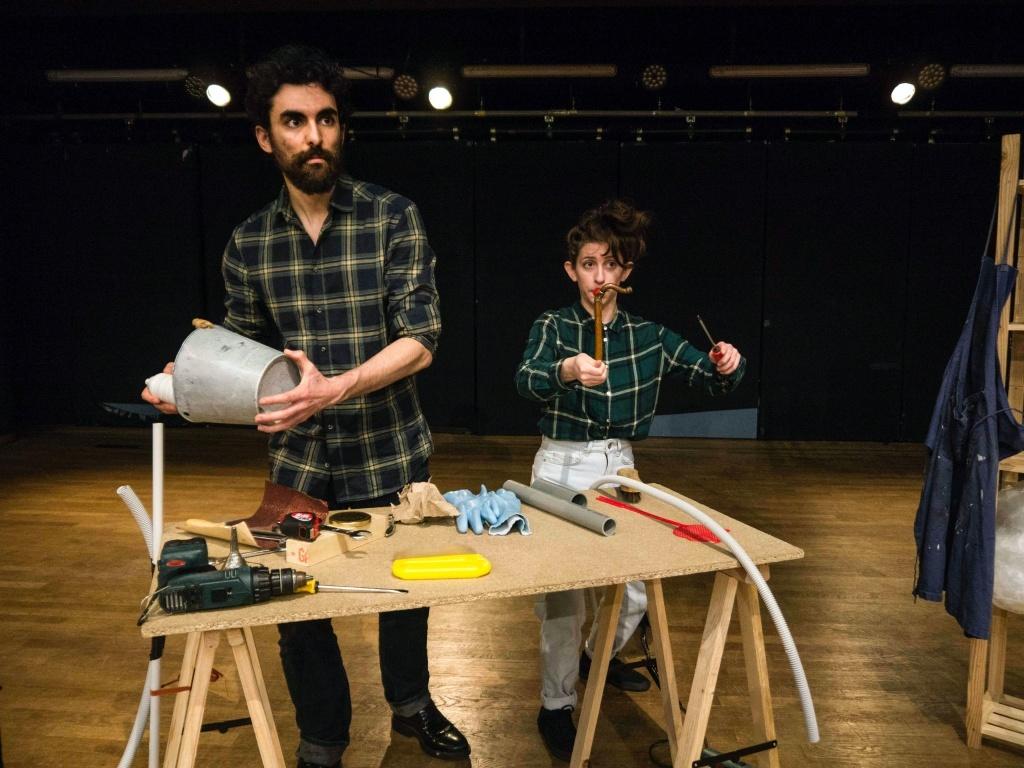 rantz de Marc Granier Salle Vicky Messica Théâtre les Déchargeurs. © Emanuel arts