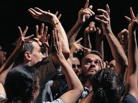 Symfonia Piesni Zalosnych de Kader Attou CCN de la Rochelle – Cie Accrorap – Kader Attou Le temps d'aimer la danse – Malandain Ballet Biarritz ©Damien Bourletsis