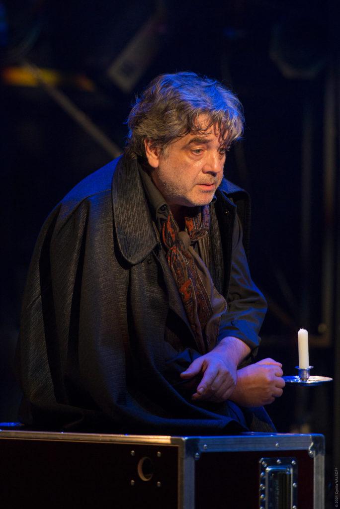 """""""Dom Juan - répétitions en cours"""" d'après Molière. Mise en scène de Christophe Lindon Marc Citti © Cyrille Valroff"""