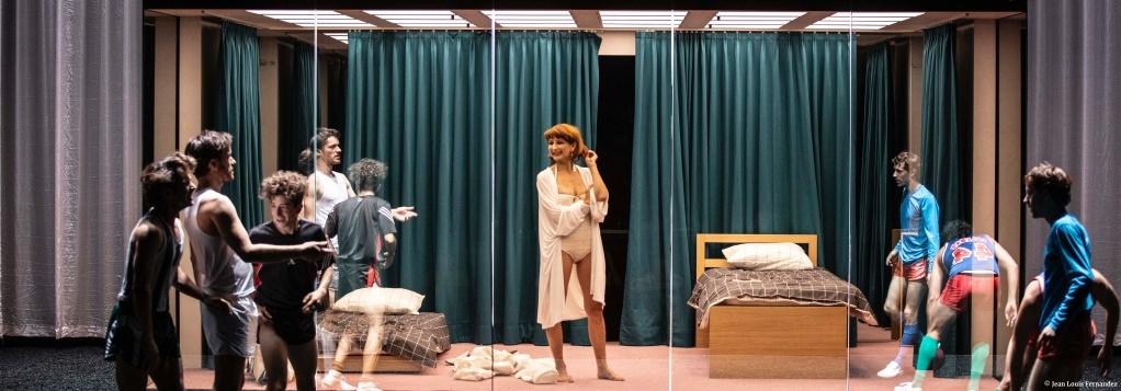 Théorème(s) d'après les textes de Pier Paolo Pasolini. mise en scène de Pierre Maillet. © Jean Louis Fernandez