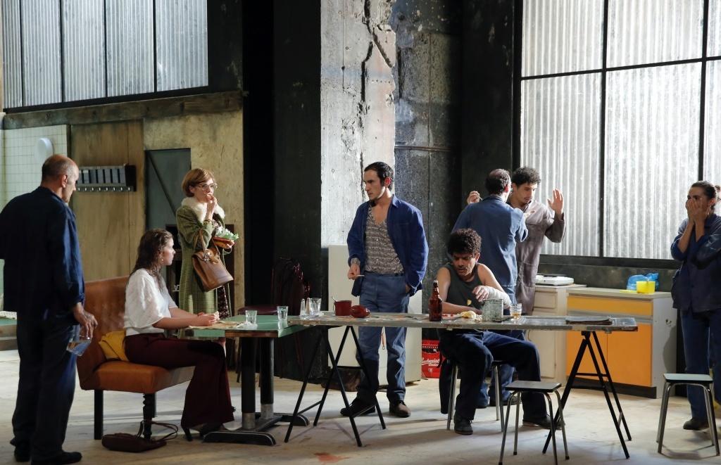 Huit heures ne font pas un jour de Rainer Werner Fassbinder Théâtre Gérard Philipe - Centre national dramatique de Saint-denis  TGP © Pascal Victor