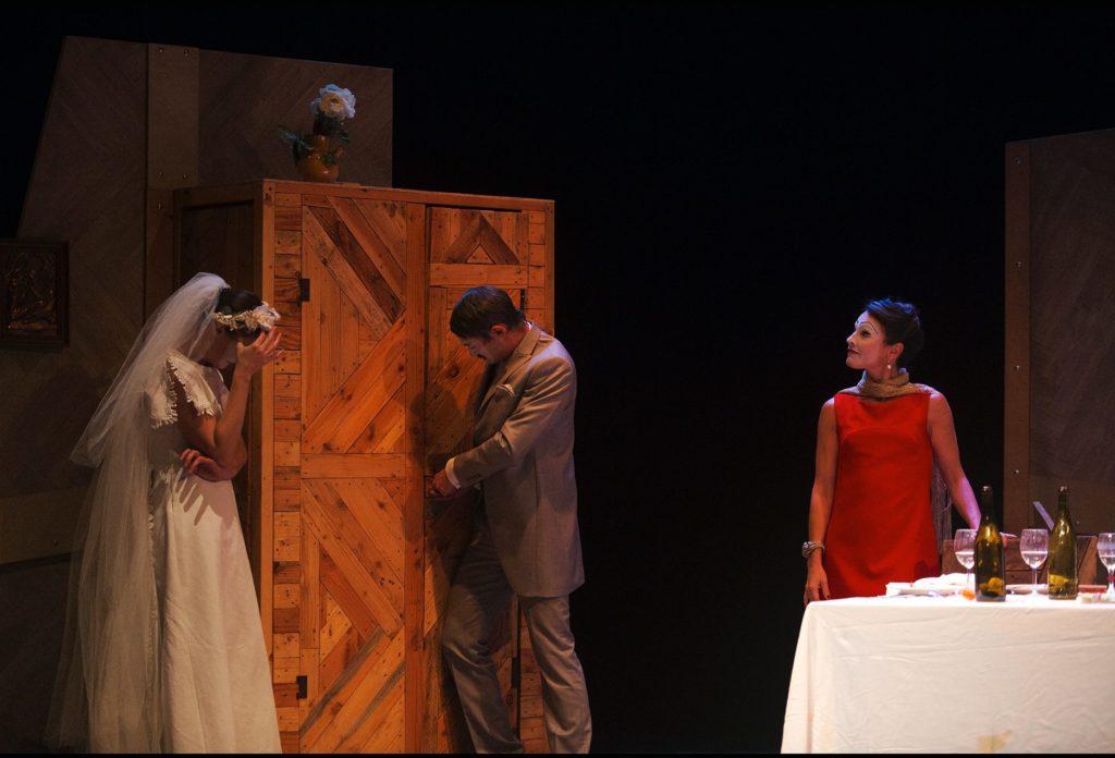 La Noce de Bertolt Brecht Mise en scène d'olivier Mellor © Ludo Leleu