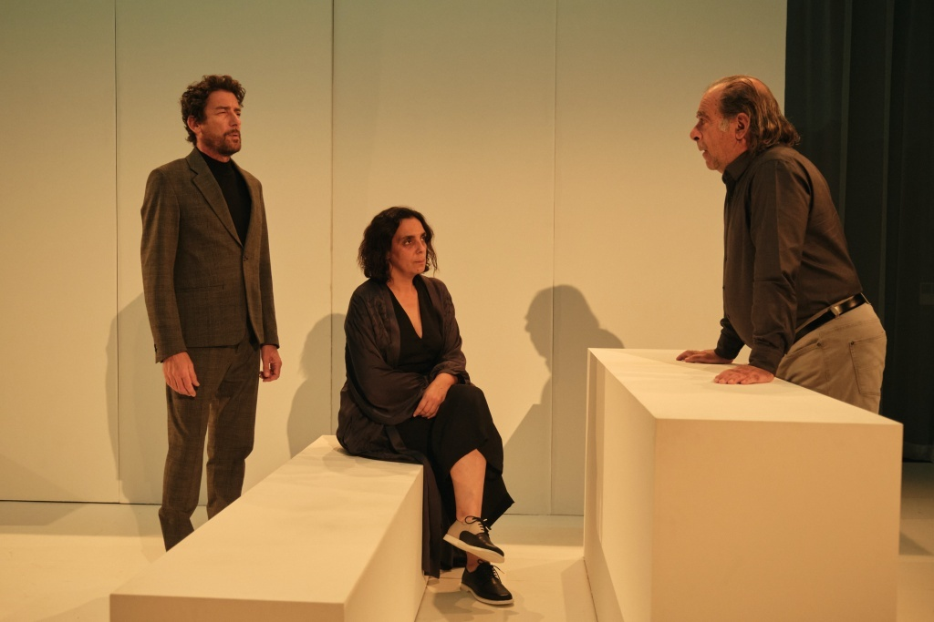 Silêncio de Guilherme Gomes et Cédric Orain Teatro Nacional D. Maria II © Filipe Ferreira
